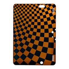 Abstract Square Checkers  Kindle Fire HDX 8.9  Hardshell Case by OZMedia
