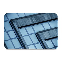 Abstract View Of Modern Buildings Plate Mats by OZMedia