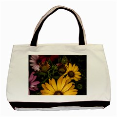 Beautiful Colourful African Daisies  Basic Tote Bag  by OZMedia