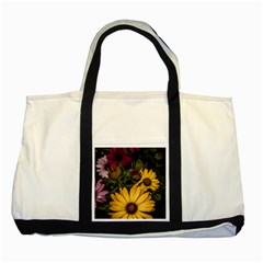Beautiful Colourful African Daisies  Two Tone Tote Bag  by OZMedia