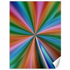 Abstract Rainbow Canvas 36  x 48   by OZMedia