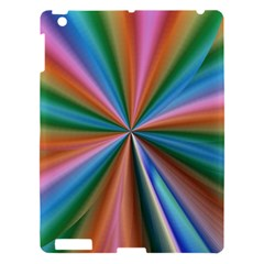 Abstract Rainbow Apple Ipad 3/4 Hardshell Case by OZMedia