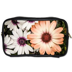 Beautiful Colourful African Daisies Toiletries Bags by OZMedia