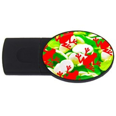Box Of Frogs  Usb Flash Drive Oval (2 Gb)  by essentialimage