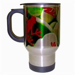 Box of Frogs  Travel Mug (Silver Gray) by essentialimage