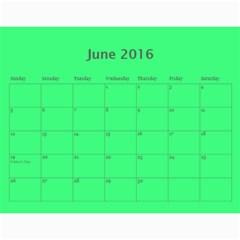 Hug Cal 2016 By Zackspacks   Wall Calendar 11  X 8 5  (12 Months)   Nbsccp2ljg22   Www Artscow Com Jun 2016