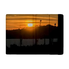 Aerial View Sunset Scene Of Montevideo Uruguay Ipad Mini 2 Flip Cases