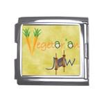 VeggieJew02_12_7_2015 Mega Link Italian Charm (18mm)