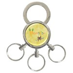 VeggieJew02_12_7_2015 3-Ring Key Chain