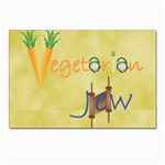 vegan jstar6X5.8_12_7_2015 Postcard 4 x 6  (Pkg of 10)