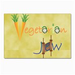 VeggieJew02_12_7_2015 Postcards 5  x 7  (Pkg of 10)