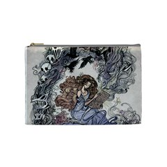 Mythical By Jen   Cosmetic Bag (medium)   0sfqvfl8929k   Www Artscow Com Front