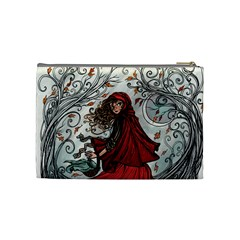 Mythical By Jen   Cosmetic Bag (medium)   0sfqvfl8929k   Www Artscow Com Back