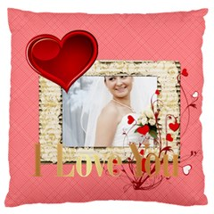 Love By Ki Ki   Standard Flano Cushion Case (two Sides)   Vomnjt6c1lqk   Www Artscow Com Back