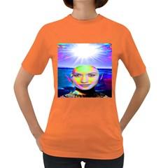 Sunshine Illumination Women s Dark T Shirt by icarusismartdesigns