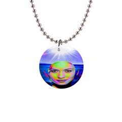 Sunshine Illumination Button Necklaces by icarusismartdesigns