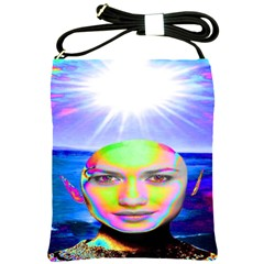 Sunshine Illumination Shoulder Sling Bags by icarusismartdesigns