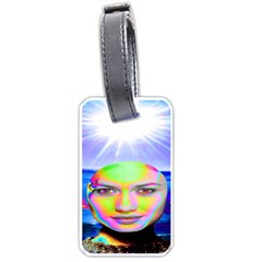 Sunshine Illumination Luggage Tags (two Sides) by icarusismartdesigns