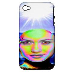Sunshine Illumination Apple Iphone 4/4s Hardshell Case (pc+silicone) by icarusismartdesigns