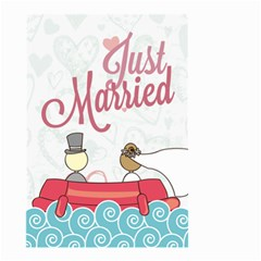 Just married Small Garden Flag (Two Sides) by typewriter