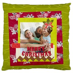Xmas By Joy   Standard Flano Cushion Case (two Sides)   3rguwzpjx4p7   Www Artscow Com Front