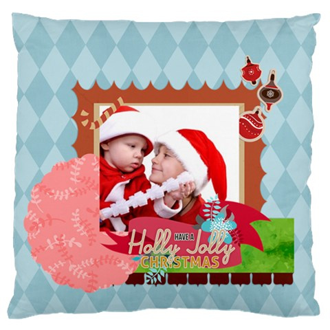Xmas By Joy   Standard Flano Cushion Case (one Side)   J4sihqd74t9k   Www Artscow Com Front