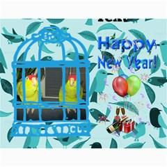 Pet Bird Calendar, 2016 By Joy Johns   Wall Calendar 11  X 8 5  (12 Months)   Aebzpyv7btho   Www Artscow Com Month