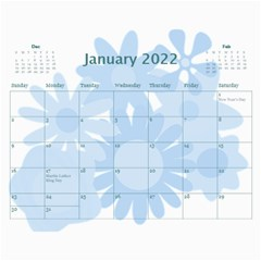 Flower Power 2016 By Joy Johns   Wall Calendar 11  X 8 5  (12 Months)   Cexkok6xtgfe   Www Artscow Com Jan 2016