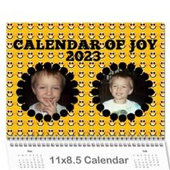 Calendar Of Joy, 2016 By Joy Johns   Wall Calendar 11  X 8 5  (12 Months)   G62j531y91io   Www Artscow Com Cover