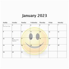 Calendar Of Joy, 2016 By Joy Johns   Wall Calendar 11  X 8 5  (12 Months)   G62j531y91io   Www Artscow Com Jan 2016