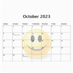 Calendar Of Joy, 2016 By Joy Johns   Wall Calendar 11  X 8 5  (12 Months)   G62j531y91io   Www Artscow Com Oct 2016