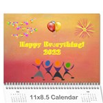 Happy Everything, 2016 - Wall Calendar 11  x 8.5  (12-Months)