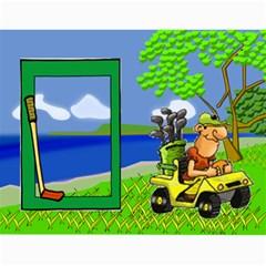 Golf Calendar, 2016 By Joy Johns   Wall Calendar 11  X 8 5  (12 Months)   Uganeb8i7473   Www Artscow Com Month