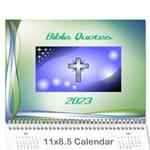 Bible Quotes Calendar, 2016 - Wall Calendar 11  x 8.5  (12-Months)