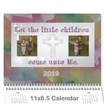 Children s Bible Calendar - Wall Calendar 11  x 8.5  (12-Months)