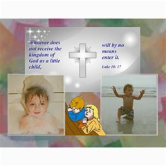 Children s Bible Calendar By Joy Johns   Wall Calendar 11  X 8 5  (12 Months)   Hblp025byvm2   Www Artscow Com Month