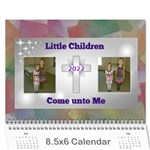 Childrens Bible Verse mini calendar - Wall Calendar 8.5  x 6