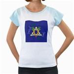 Vegan Jewish Star Women s Cap Sleeve T