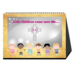Children s Bible Verses Desktop Calendar By Joy Johns   Desktop Calendar 8 5  X 6    Ridw1m3kftdh   Www Artscow Com Cover