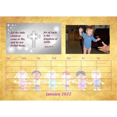 Children s Bible Verses Desktop Calendar By Joy Johns   Desktop Calendar 8 5  X 6    Ridw1m3kftdh   Www Artscow Com Jan 2016