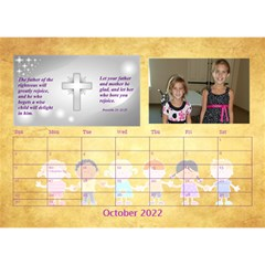 Children s Bible Verses Desktop Calendar By Joy Johns   Desktop Calendar 8 5  X 6    Ridw1m3kftdh   Www Artscow Com Oct 2016