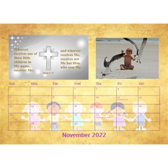 Children s Bible Verses Desktop Calendar By Joy Johns   Desktop Calendar 8 5  X 6    Ridw1m3kftdh   Www Artscow Com Nov 2016