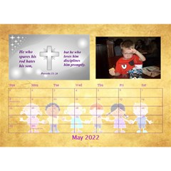 Children s Bible Verses Desktop Calendar By Joy Johns   Desktop Calendar 8 5  X 6    Ridw1m3kftdh   Www Artscow Com May 2016