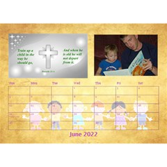 Children s Bible Verses Desktop Calendar By Joy Johns   Desktop Calendar 8 5  X 6    Ridw1m3kftdh   Www Artscow Com Jun 2016
