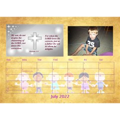 Children s Bible Verses Desktop Calendar By Joy Johns   Desktop Calendar 8 5  X 6    Ridw1m3kftdh   Www Artscow Com Jul 2016