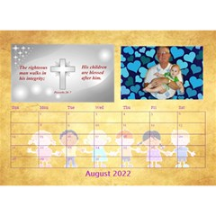 Children s Bible Verses Desktop Calendar By Joy Johns   Desktop Calendar 8 5  X 6    Ridw1m3kftdh   Www Artscow Com Aug 2016