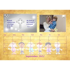 Children s Bible Verses Desktop Calendar By Joy Johns   Desktop Calendar 8 5  X 6    Ridw1m3kftdh   Www Artscow Com Sep 2016