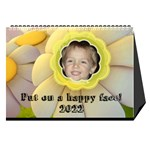 Happy face desk calender - Desktop Calendar 8.5  x 6