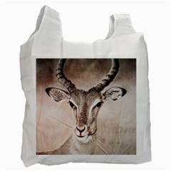 Antelope horns Recycle Bag (Two Side)  by TwoFriendsGallery