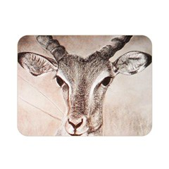 Antelope Horns Double Sided Flano Blanket (mini)  by TwoFriendsGallery